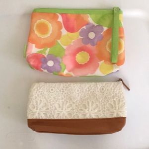 Handbags - Two cute cosmetic bags